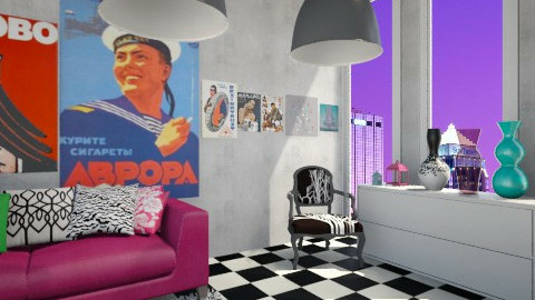 lalalalala2 - Minimal - Bedroom - by PiggyPower