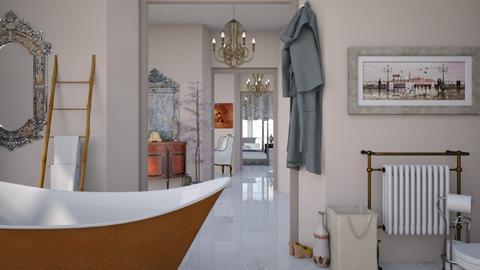 Hotel room in venice - Classic - Bathroom - by HenkRetro1960