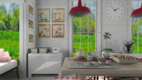 Happy _ Day  - Kitchen - by Sanare Sousa