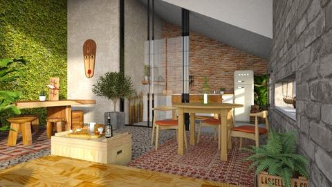 wooden - Modern - by jjannnii