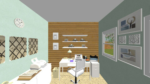 Womens office - Eclectic - Office - by Lovatic24