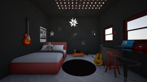 Space Rock Star Bedroom - Bedroom - by sgsg8