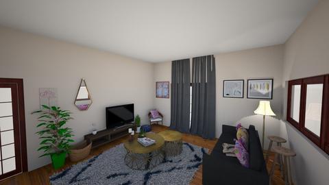 Westdene Living Room - Living room - by Sonali_Rooms