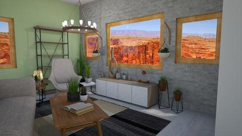 IP Terrazzo - Living room - by avawrightthewrightone