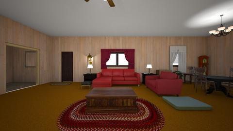 Pike Street Home - Living room - by WestVirginiaRebel