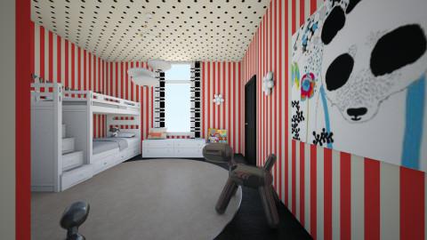 child - Minimal - Kids room - by nataliaMSG