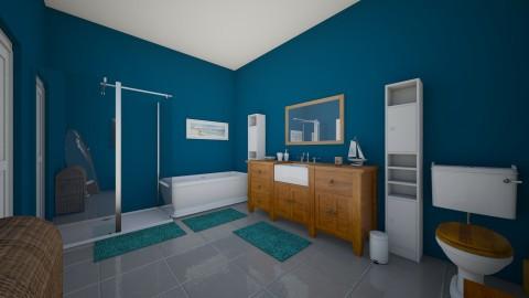 Nautical Wash Room - Global - Bathroom - by AshleyRowland01