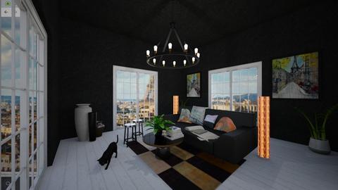 Taste of Paris - Living room - by junicorn19