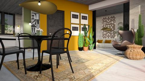 Living room and kitchen m - by bnu
