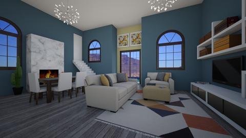 pol - Living room - by maddiee086