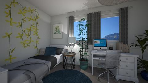 Girls bedroom - Bedroom - by ivona_h