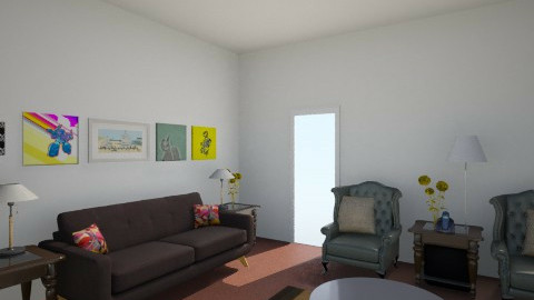 My Living Room  in 2014 - Vintage - Living room - by sledge7140