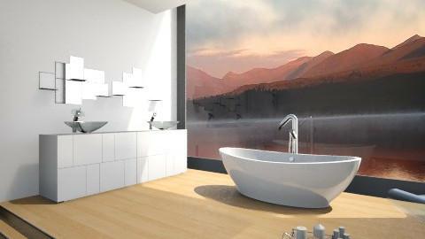 Minimalist Bath - Minimal - Bathroom - by MilaMao