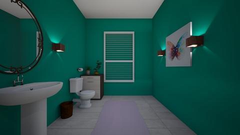 guest bathroom i think - Classic - Bathroom - by boosingerrl