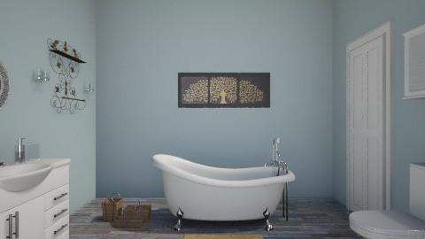 1st bathroom - Bathroom - by imstephaniee_