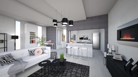 living room modern - Living room - by Denies90
