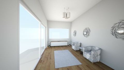 Backyard living room - Minimal - Living room - by Justine_stl