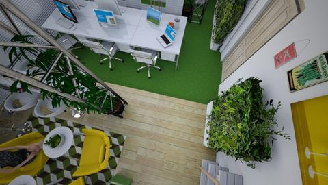 office _Clause_new - Modern - Office - by ksiaoggi