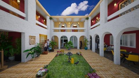 The Hacienda Hotel - by Conchy