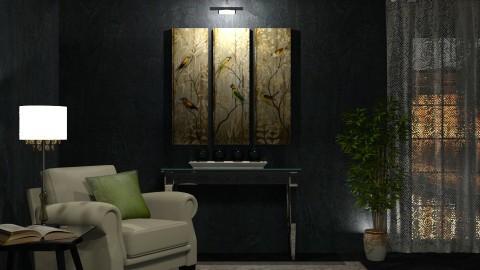 Black walls to barnigondi - by Lizzy0715