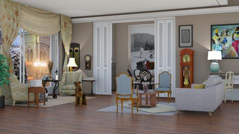 nella piazza - Vintage - Living room - by pachecosilv
