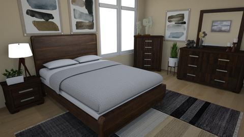 Mid Century Modern - Modern - Bedroom - by NikLaurayne