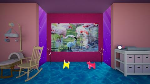 Nursery LOL - Eclectic - Kids room - by Orionaute