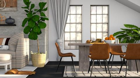 Terracotta - Minimal - Dining room - by millerfam