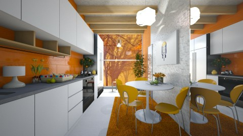 Mini kitchen - Classic - Kitchen - by NikolinaB26