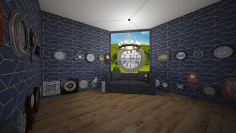 clock - Living room - by shantebobante