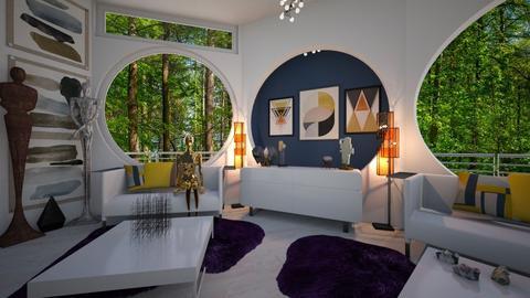 Art Studio - Living room - by PenAndPaper