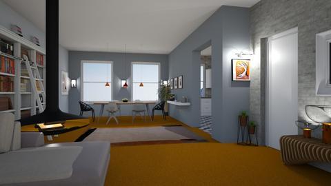 Orange Carpet - by gaietta_aa