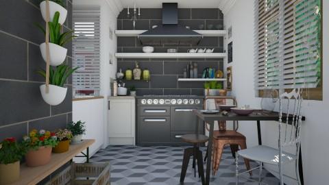 color kitchen - Modern - Kitchen - by leger1234567890