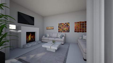 Bright Living room - Modern - Living room - by CizzleG