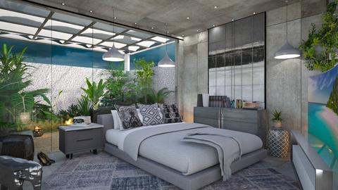 M_ Garden nearby - Bedroom - by milyca8