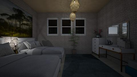 guest bedroom 1 - Bedroom - by GeGe Kanthip