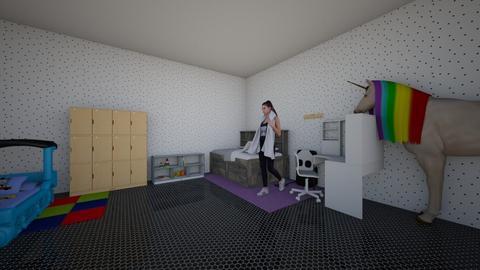 katerina kai zoi - Kids room - by 10kozdim
