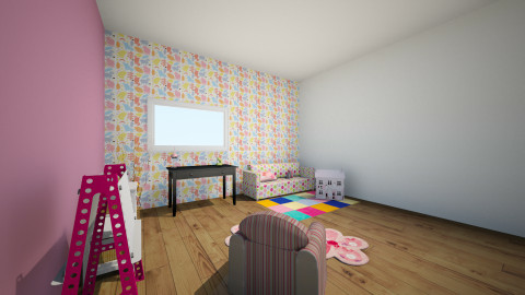 Little Girl - Glamour - Kids room - by Audrey85