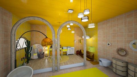 yellow - Modern - Bathroom - by natasa mihajlovic