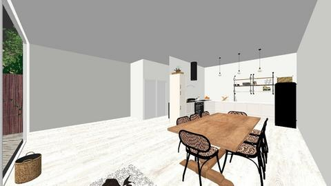 london new house  - Kitchen - by zozan