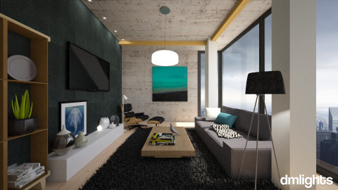 Crying City - Living room - by DMLights-user-1042262