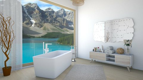 LOU - Classic - Bathroom - by Rose Hdz