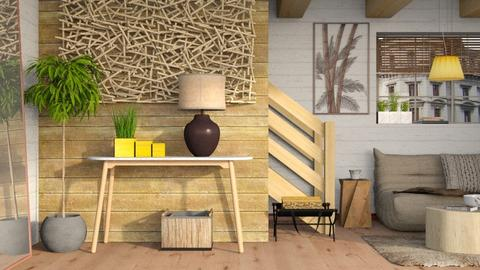 Touch Wood - Living room - by Sally Simpson