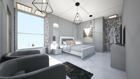 quarto de hotel - Minimal - Bedroom - by kelly lucena
