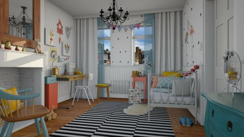 Eclecticity - Bedroom - by MandyB84