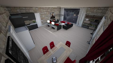 family home 154 - Modern - Living room - by Stavroula Chatzina