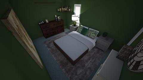Salena room - Rustic - Bedroom - by salena17