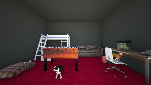 braxtons  room - Modern - Kids room - by kami1424