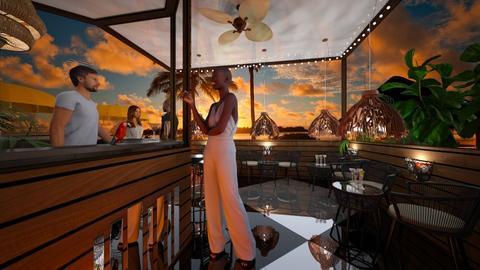 Tropical bar - by RonRon