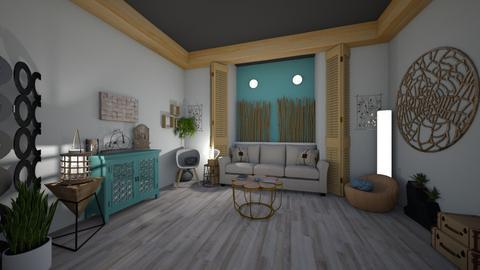 Wood Living Room - Living room - by Anna Neeb